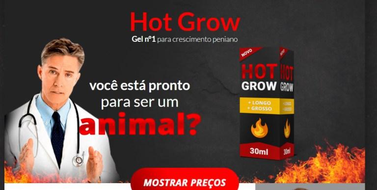 Hot Grow Funciona? Onde Comprar, Formula, Bula, Composicao, Preco e Desconto