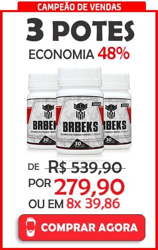 Comprar 3 potes de Brbeks