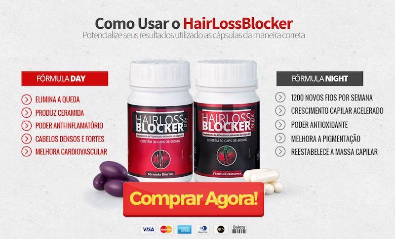 Benefícios HAIR LOSS BLOCKER  do Seu Uso Cotidiano.