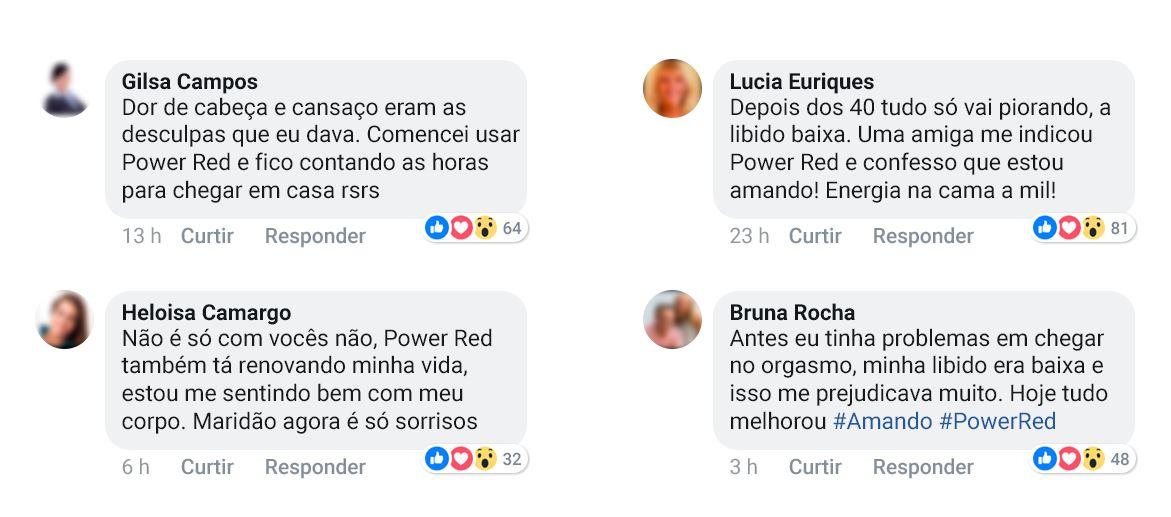 Depoimentos Power Red