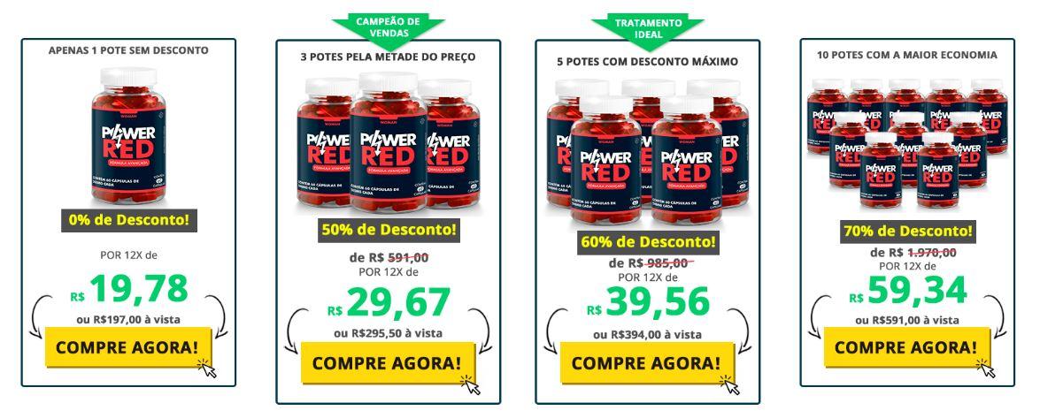preço de Power RED
