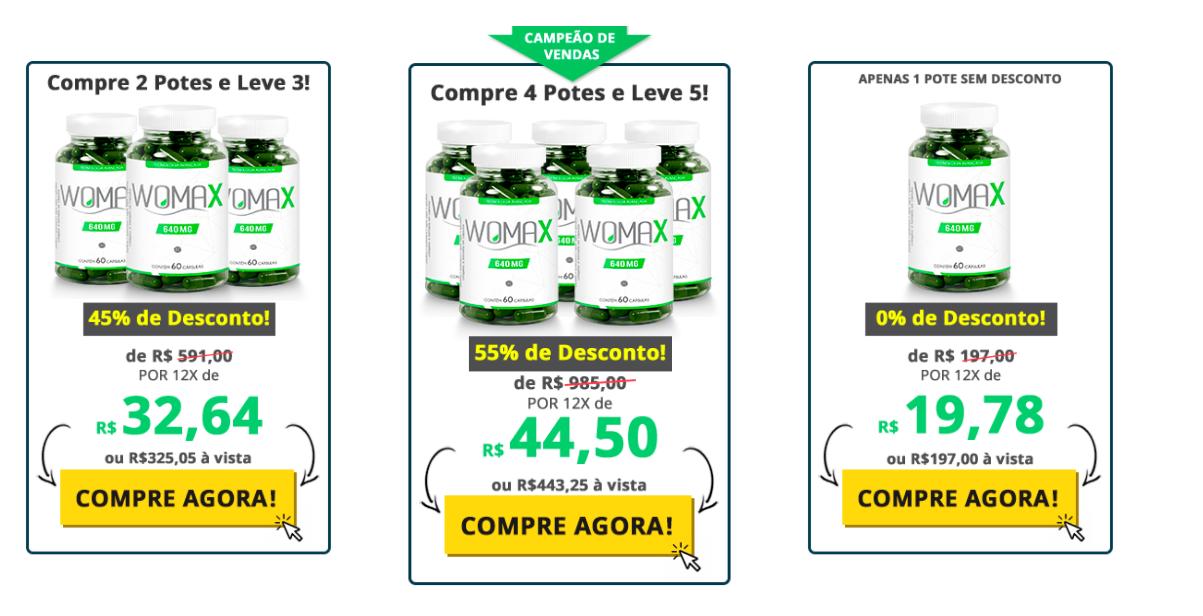 preço womax