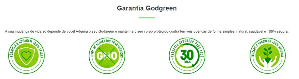 god green garantia