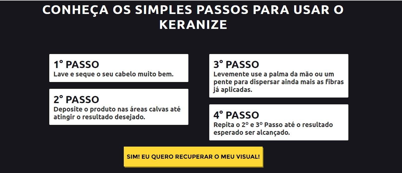 Como usar kerazine