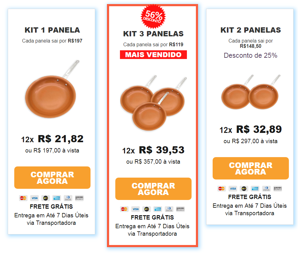 preco-goldchef </li> <li> <p>  Mais precisamente para responder a esta pergunta, devemos considerar os custos de encomendas e envio. Então, por exemplo, o que recomendamos aqui no site é o original e vale a pena comprar. </p> <p>  <strong> As ofertas estão em toda parte, mas qual é a melhor? </strong> </p> <p>  Se você quer entregar com rapidez e segurança, é melhor aproveitar as ofertas do próprio Brasil, aqui há muitos sites que vendem produtos falsos por isso recomendamos que você compre a partir do site oficial do vendedor e da empresa que vende. ] E lembre-se que o Pot Goldchef: </p> <ul> <li>  Não gritar nem ovo </li> <li>  Cozinhar sem óleo </li> <li>  Tecnologia de revestimento </li> <li>  É completamente livre de compostos tóxicos </li> <li>  Pode ser usado diretamente na máquina de lavar louça </li> </ul> <p>  Não há dúvida de que Goldchef é muito bom e é um dos melhores potes de cerâmica que você pode comprar no Site Oficial. Mas sendo a melhor tecnologia de revestimento e evitando arranhões, isso! Nada sobre arranhões e altas temperaturas. </p> <h4>  Mais sobre Goldchef – melhor panelas de cerâmica </h4> <p>  Cerâmica panelas como o Goldchef Panelas é bom e completamente livre de substâncias tóxicas como perfluorooctanossulfonato, ácido perfluorooctanóico e eu sempre fui usado para usar panelas antiaderente em minha cozinha, meu dia sempre esteve muito ocupado, exercitei e ainda cuido dos meus dois filhos. </p> <p>  Eu conheci Panela Goldchef e logo me apaixonei, ela prometeu me dar um impulso na minha cozinha. Feito de cerâmica, cobre e titânio, panelas antiaderente tem um belo design que imediatamente se apaixonou por mim. </p> <p style=